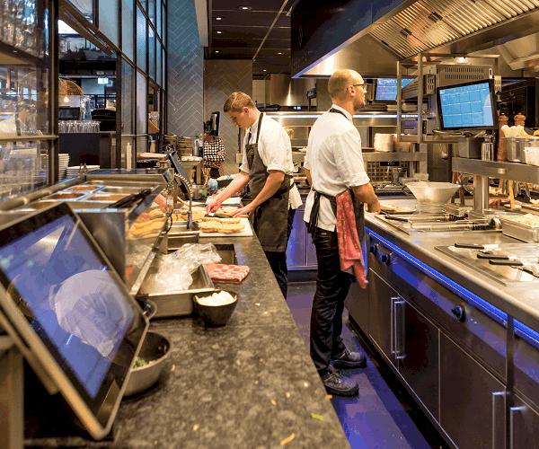 unTill keuken en barproductie